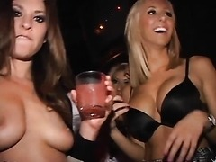Hot Gals Getting Fucked Hard In The VIP