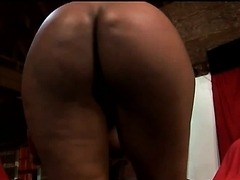 Delotta Brown Makes Her Big Tits Bounce