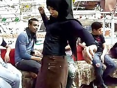Sexy Amateur Arab Teen Belly Dancing Outdoors