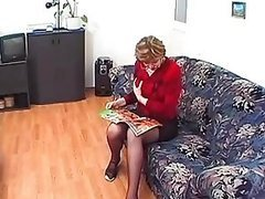 Fucking a Horny and Kinky Granny