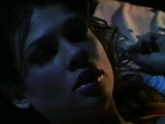 Spectacular Retro Brunette Teri Weigel Sucks Cock and gets Fucked in Lingerie