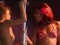 Charmane Star & Misty Stone Pole Dancing