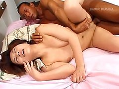Rina Katsura is a hot milf who loves fucking men