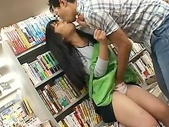 Sexy saleswoman Eimi Ishikura gets amazingly fucked at her workplace