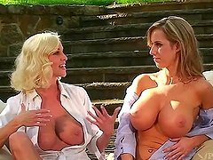 Keylee Parker & Paige Lowry  are showing their tits