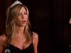 World's Hottest Babe Jennifer Aniston Wearing a Sexy Maid Uniform