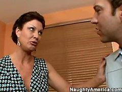 Sensual Mature Babe Vanessa Videl Gets Fucked and Facialized
