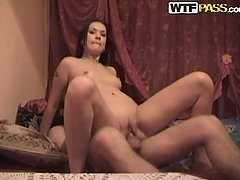 Naughty amateur couple fuck and fucking amazing
