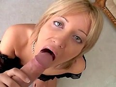 Nice Kimberly Kane shows her great blowjob skills in POV video