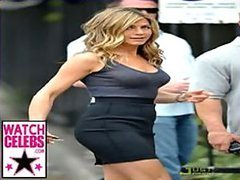 World's Hottest Celeb Jennifer Aniston In See-Through Shirts Slideshow