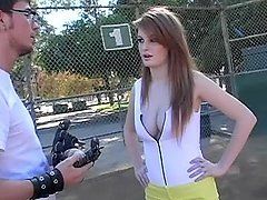 Faye Reagan gets picked up at the tennis court