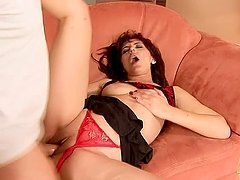 Gina Red toys her pussy and gets it fucked every which way