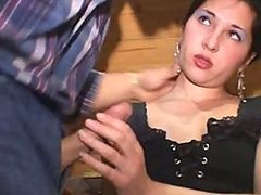Smoking Hot Italian Secretary Gets Double Penetrated in a Threesome