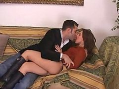 Cock-Hungry Italian Babe Alexa Grandi Gets an Ass Fuck and a Facial