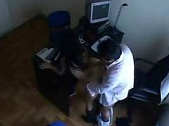 Indian Secretary Fucking with Her Boss In the Office