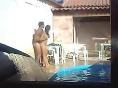Voyeur Vid Of Couple Fucking Like Crazy In the Pool