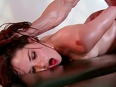 Naked pornstar mouth fucking masseurs huge dick