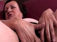 Lonely mature masturbating craving twat in close-up