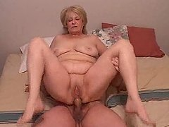 Three naughty grannies get their asses drilled in compilation vid