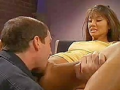 Slim Asian office chick gets fingered and fucked in the ass