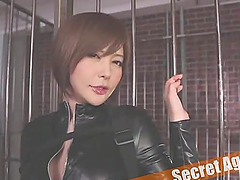Yuria Satomi gets her mouth and pussy fucked deep and hard