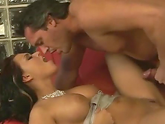 Big breasted Eva Angelina rides a dick expertly