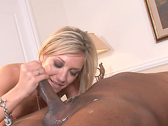 Amy Brooke Sexy Blonde Getting Pussy and Ass Fucked by Black Cock