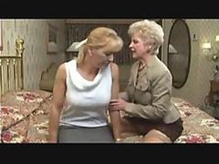 Great Lesbian Action With Two Mature Babes