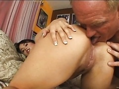Kaci Star Gets Fucked Hard By A Lucky Old Fart
