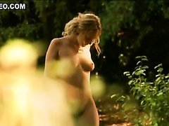 Robinson Stevenin Fucks Blonde Beauty Ludivine Sagnier Outdoors
