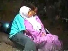 Amateur Turkish Couple Showing Their Love For One Another