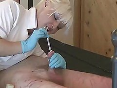 Dominating Nurse Torturing A Helpless Tied Up Guy In Femdom
