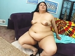 Big White Babe BBW Fucks and gets a Facial
