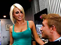 Blonde Lexi Swallow Deepthroats and Gets Banged By a Big Cock