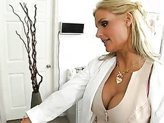 Cowgirl and Doggystyle Fucking For Busty Blonde Phoenix Marie