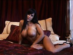 Big Breasted Brunette MILF Lisa Ann Has Anal Sex With a Big Dick