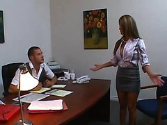Accountant Offers to do Jodi Bean's Taxes To Fuck Her Tits and Pussy