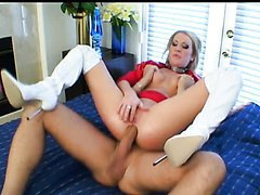 Fingering and Fucking the Blonde Cameron James' Asshole