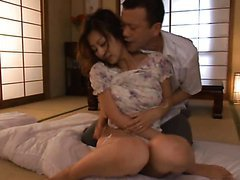 Facial Cumshot After 69 and Hardcore Sex For a Sexy Japanese Wife
