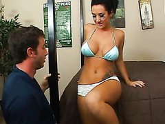 Sizzling Hot Football Player Jayden Jaymes Rides A Really Horny Fan