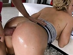 Krissy Lynn gets a Rimjob and then Anally Fucked