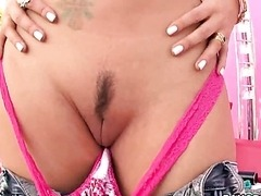 Sophia Santi Sucks Cock and gets a Rimjob Outdoors
