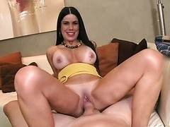 Tanlined Latina MILF in Hardcore Action Vid