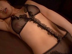 Sexy Ass And Dildo Loving Babe Akiho Yoshizawa In Stockings Hard Banged