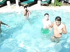 Evan's Extreme Gay Pool Party