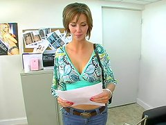 Job Interview Sex With The Gorgeous Babe Destiny