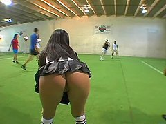 Futbol Follies wildest orgy with the hottest models!