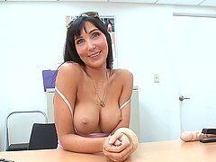 Sexy MILF with Perfect Tits Sucking and Fucking in POV Video