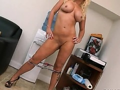 Blonde MILF Sucks Cock and Gets Fucked in Hot Photo Session