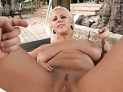 Lylith Lavey Giving a Hot Outdoorsy Blowjob